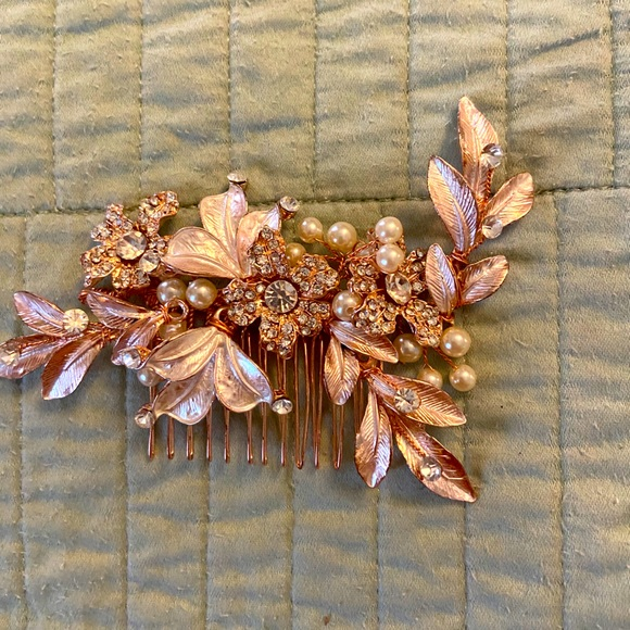 Accessories Rose Gold Hair Accessory Poshmark